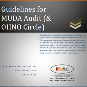 Quick Guide- MUDA Identification & Ohno Circle