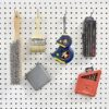 6-inch Metal Peg Board Shelving Hooks | 50-Piece Pack| www.breval.co.in
