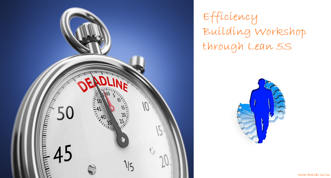 Efficiency building through lean 5s