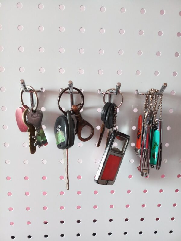 pegboard for key