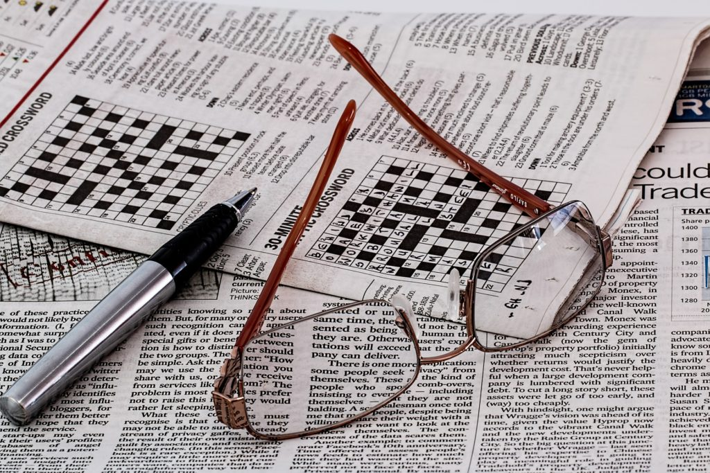 Crossword puzzle, lean games
